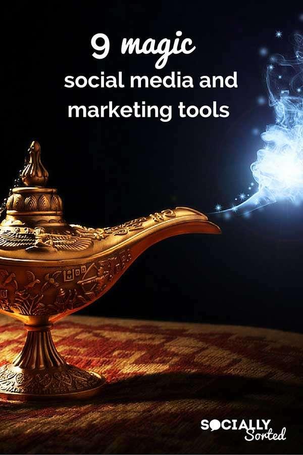 9 Magic Social Media and Marketing Tools for 2016