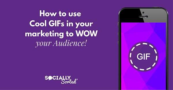 How to use cool GIFs in y9uor marketing to Wow your audience online