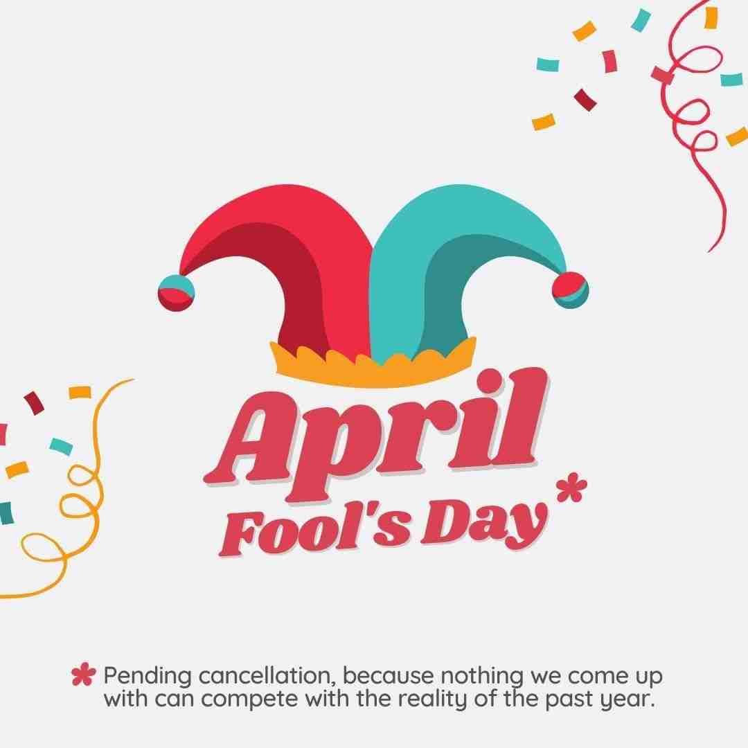April Fool's Day Canva Template - 60+ April Social Media Ideas - Videos, GIFs and more!