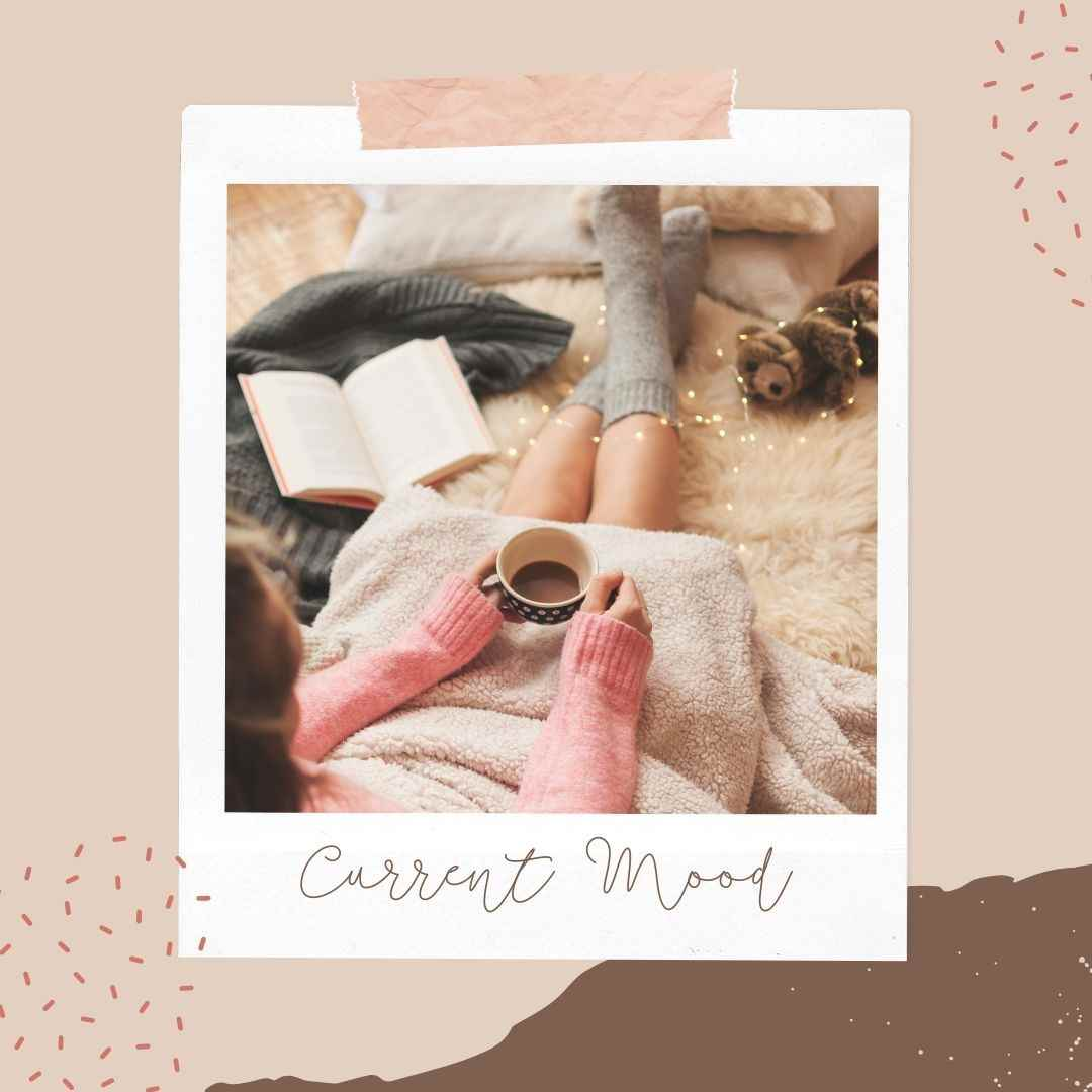 Canva Book Template Current Mood - 60+ April Social Media Ideas - Videos, GIFs and more!