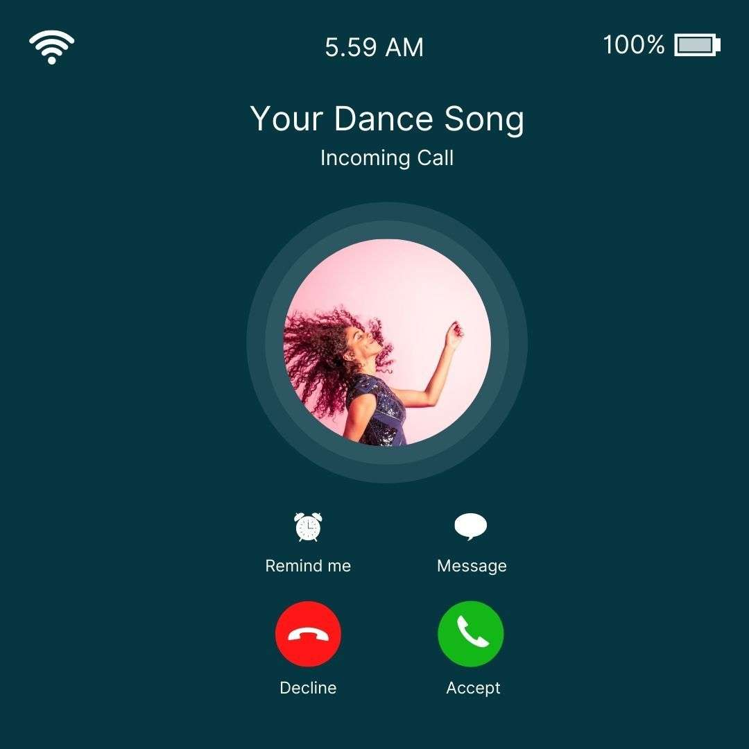 Your Dance Song Canva Template by Socially Sorted -  60+ Social Media Ideas + Canva Templates.