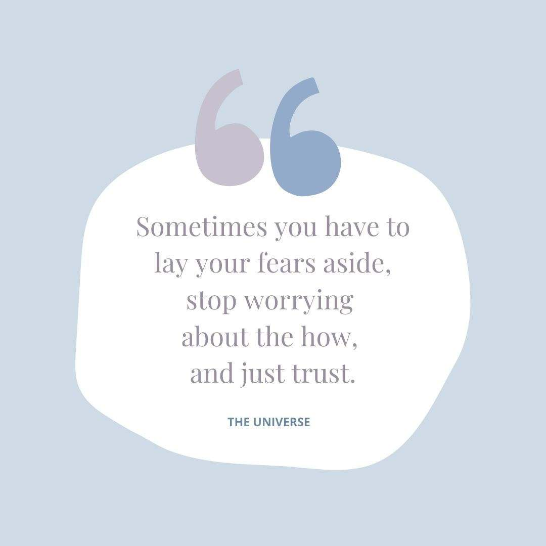 Lay Your Fears Aside Canva Quote Template - 60+ May Social Media Ideas
