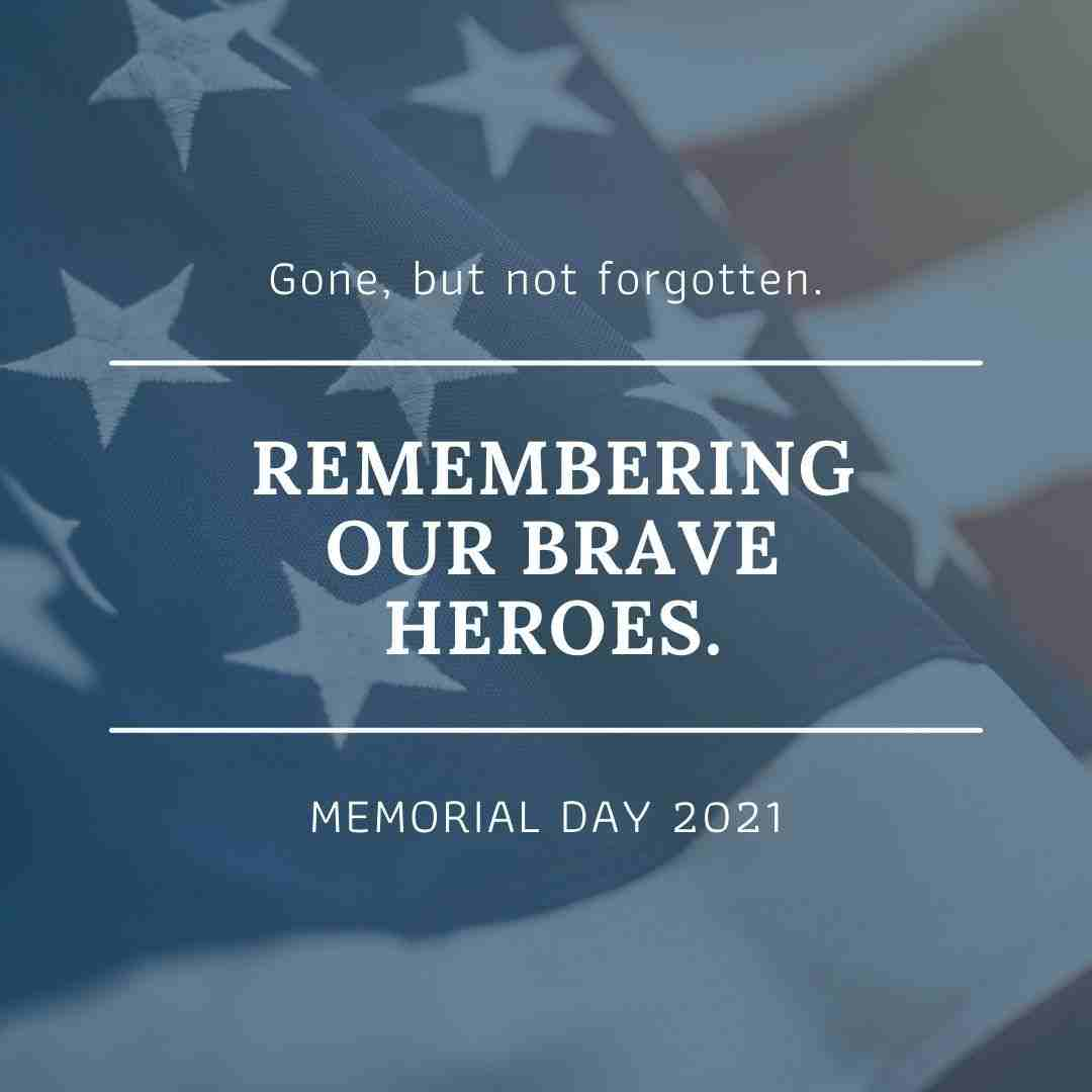Memorial Day Canva Template by Socially Sorted - 60+ May Social Media Ideas - Images, Videos, GIFs and more!