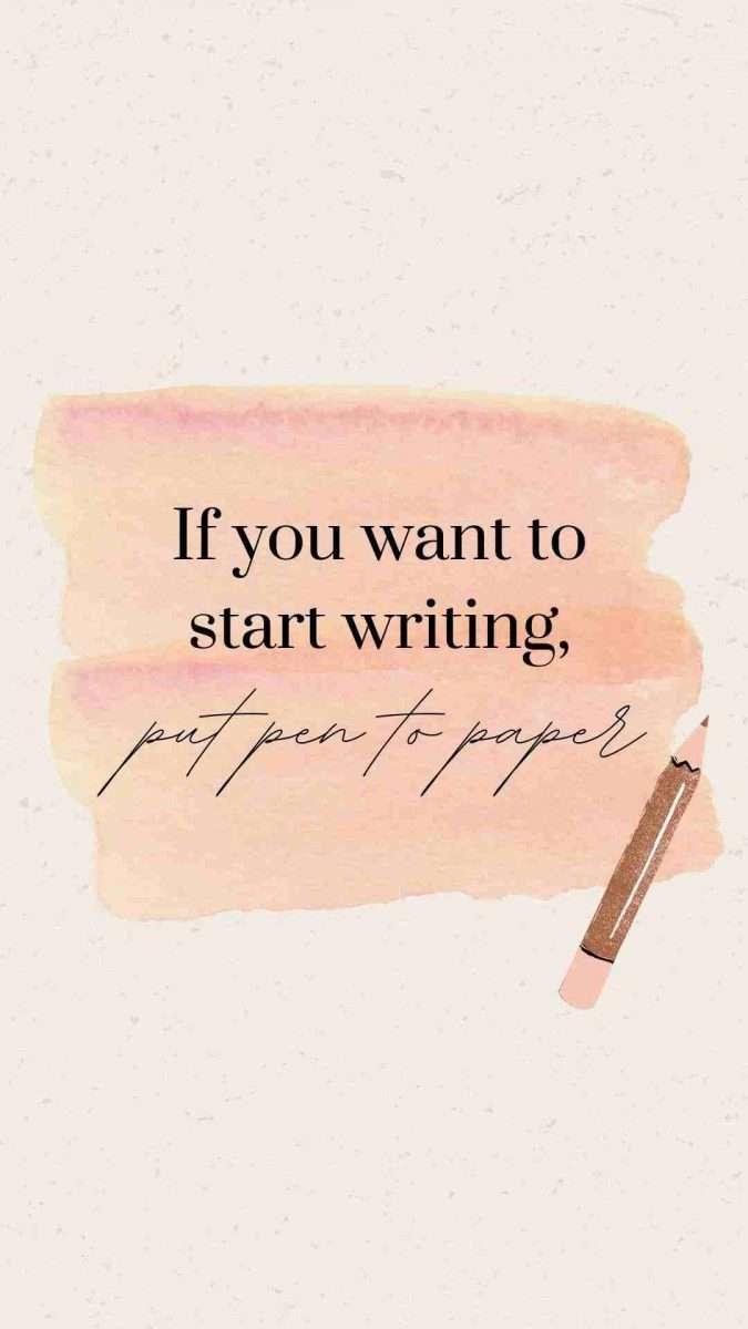 Writing Canva Template - 60+ June Social Media Ideas + Canva Templates!