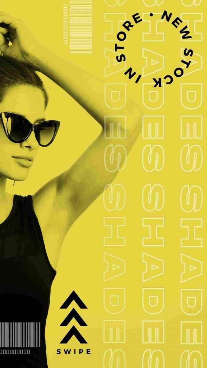 Sunglasses Canva Template - 60+ June Social Media Ideas