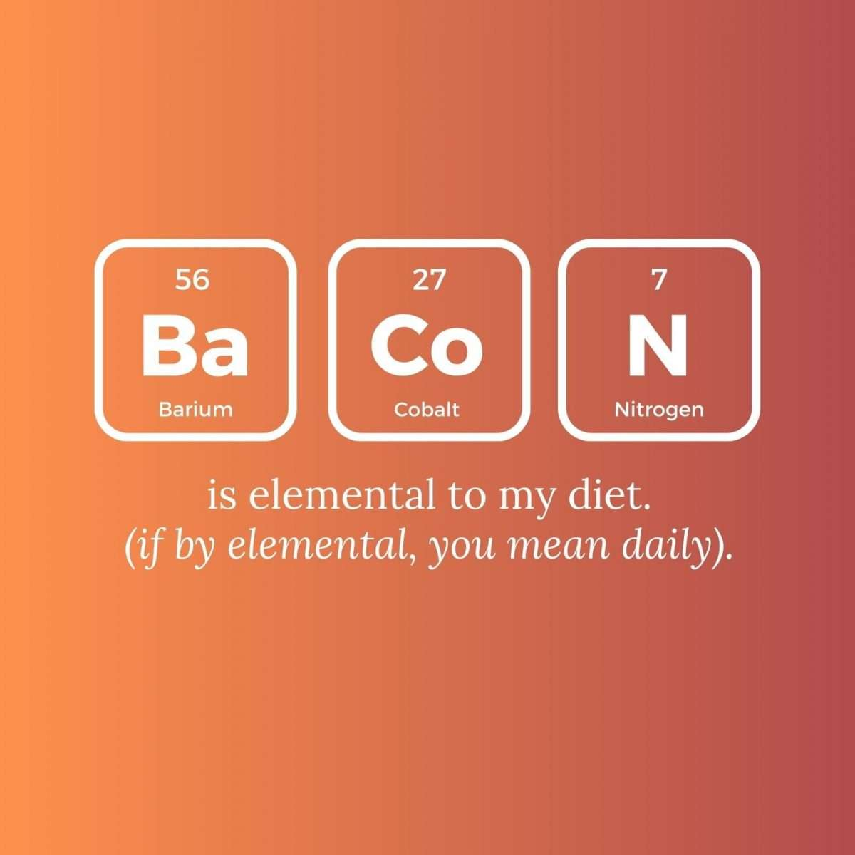 Bacon Canva Template by Socially Sorted