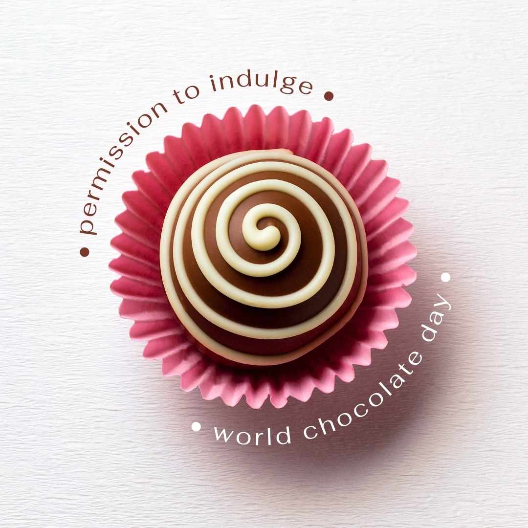 World Chocolate Day Canva Template - 60+ July Social Media Ideas Plus Canva Templates.