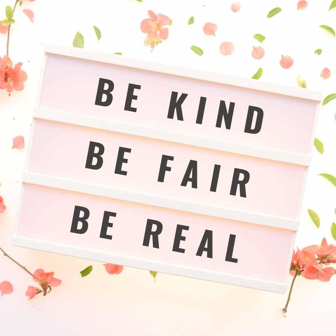 Be Kind Canva Template - 60+ July Social Media Ideas Plus Canva Templates.