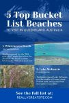 Bucket List Beaches Tourism Canva Template - Message Reminder Post Template in blog post: Easy Message Reminder Posts + Canva Templates