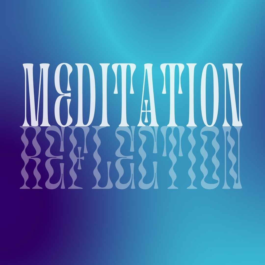 Mediation Reflection Gradient Canva Template - Editable Canva Template by Socially Sorted