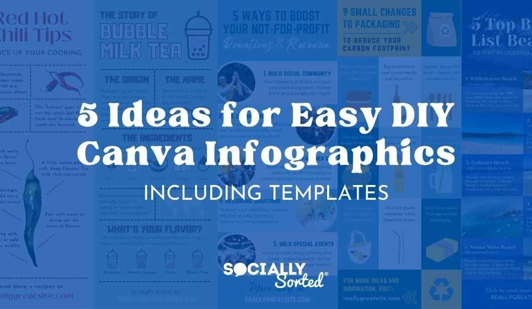 5 Ideas for Easy DIY Canva Infographics (+ Templates!)