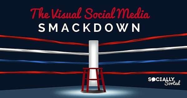 The Visual Social Media Smackdown