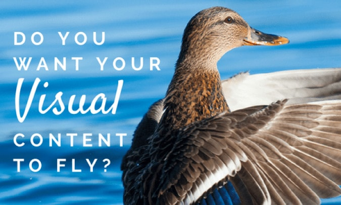 Want Your Visual Content to Fly?  Downplay Your Brand